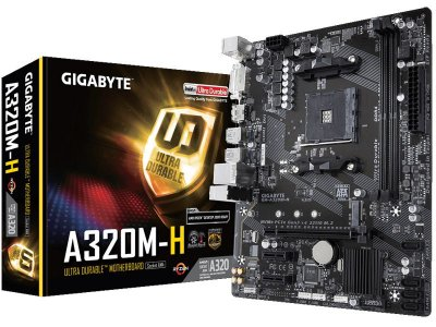 A320M H PLACA MAE DESKTOP AM4 AMD GIGABYTE