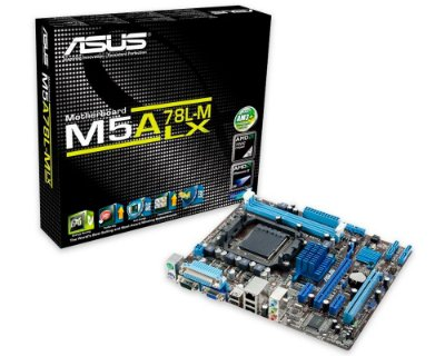 90-MIBFW2-G0XCK1SZ Placa-Mãe Asus (M5A78L-M LX/BR) AMD AM3 DDR3 Micro ATX