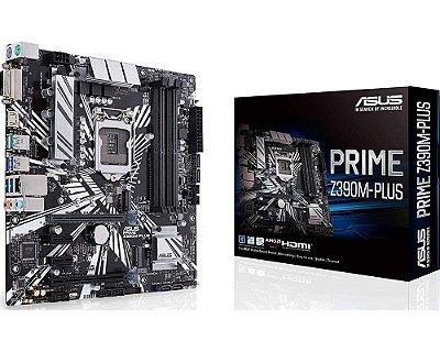 90MB0Z60-M0EAY0 Placa-Mãe Asus Prime (PRIME Z390M-PLUS) Intel 1151 DDR4 mATX