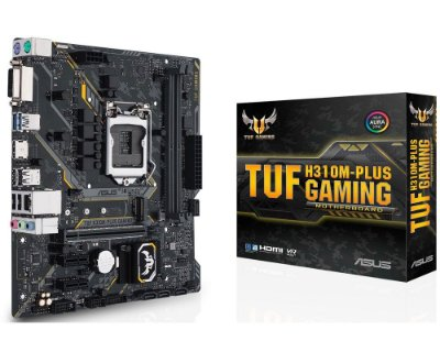 90MB0Y50-C1BAY0 Placa-Mãe Asus GAMING (TUF H310M-PLUS) Intel 1151 DDR4 mATX