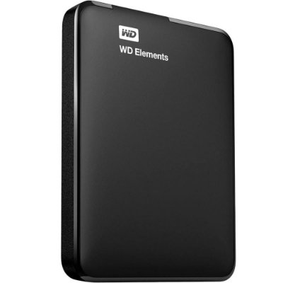 WDBUZG0010BBK-WESN - HD Externo Western Digital Elements 1TB USB 3.0 Preto