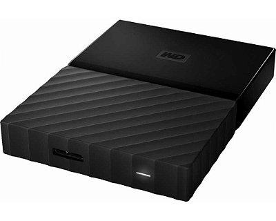 WDBS4B0020BBK-WESN - HD Externo Western Digital Portable 2TB USB 3.0 Preto