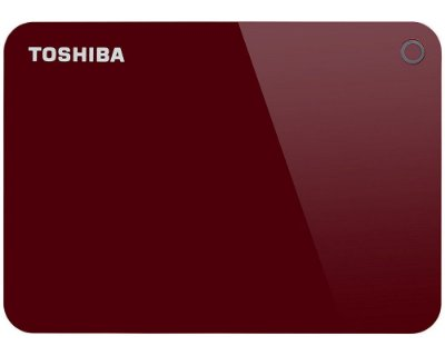 HDTC910XR3AA - HD Externo Toshiba 1TB Canvio Advance V9 5400rpm USB 3 Red