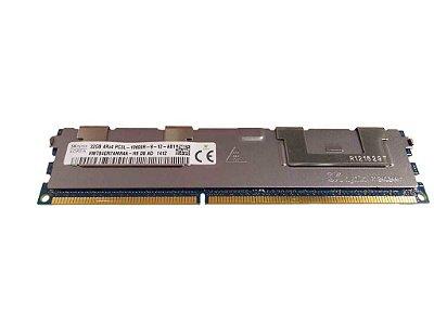 0R45J Memória Servidor Dell 32GB 1333MHz PC3L-10600R
