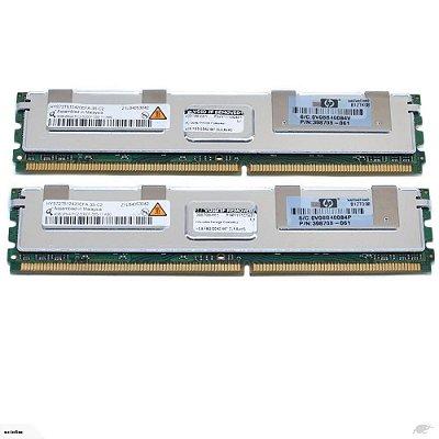 397415-B21 Memória Servidor HP SDRAM PC2-5300 de 8 GB (2x4 GB)