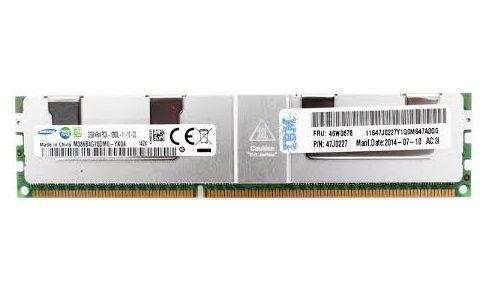 46W0676 Memória Servidor IBM 32GB PC3L-12800 ECC SDRAM LP LRDIMM