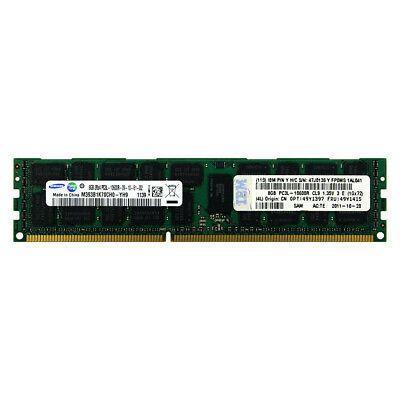49Y1555 Memória Servidor IBM DIMM SDRAM 8GB PC3-10600 ECC