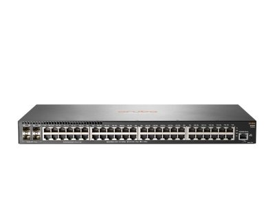 Switch 2930F Gerenciável 48G 4SFP+ com 48 portas 10/100/1000 Mbps RJ45 + 4 portas SFP+ (1/10G) - Aruba / JL254A