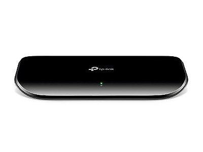 Switch Mesa 8 Portas 10/100/1000Mbps Gigabit - TP-LINK / TL-SG1008D