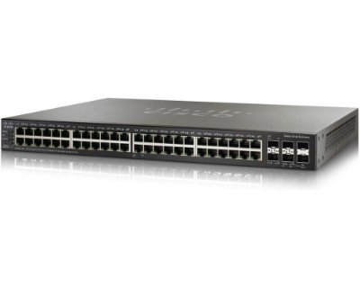 Switch Cisco SG250X-48 Gigabit Smart 48 Portas 10/100/1000Mbps / SG250X-48-K9-BR
