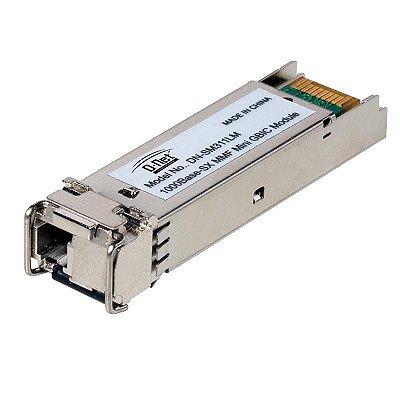 Módulo Mini GBIC WDM 1000 Base BX A 20KM C/DDM D-net - DN-SFP-BXW-20A