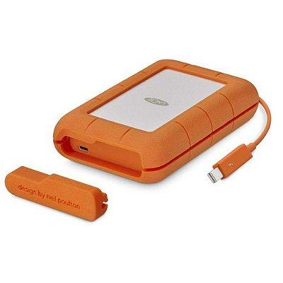 STFS4000800 HD Externo Portátil LaCie Rugged 4TB USB-C e Thunderbolt