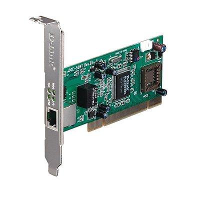 DGE-528T D-Link Placa de Rede PCI Gigabit 10/100/1000Mbps (RJ45)