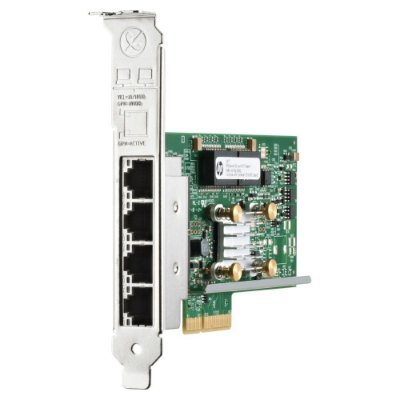 647594-B21 Placa de rede HP Ethernet 1Gb 4-port 331T Adapter