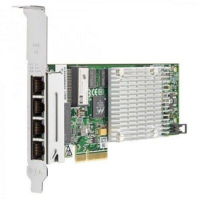 538696-B21 HPE Placa de Rede Gigabit (NC375T) PCIe com 4 portas 1GbE (p/ Servidor HP)