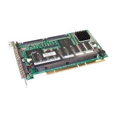 047JFR Placa Controladora RAID Dell PERC 3 / DC U160 SCSI PCI-X 128MB