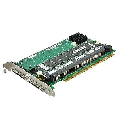 09M912 Placa Controladora RAID Dell PERC 3 / DC U160 SCSI PCI-X 128MB