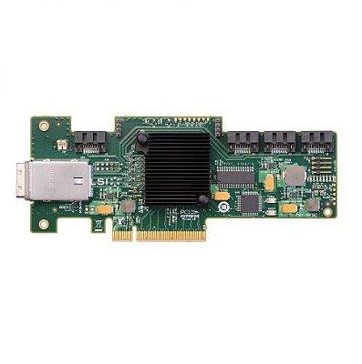 46M0907 Placa Controladora IBM HBA PCI-e SAS de 6GB e 4 portas