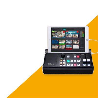 Mixer de áudio e vídeo multicanal multifuncional Aten StreamLIVE™ HD  UC9020