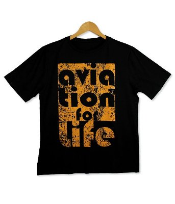 Camiseta Aviation for Life