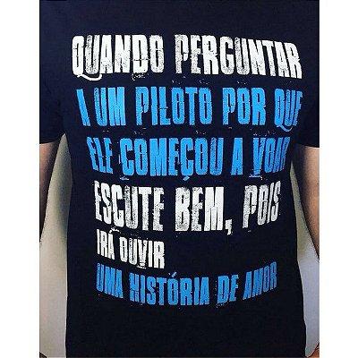 Camiseta História de Amor