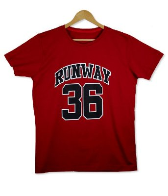 Camiseta Red Runway 36