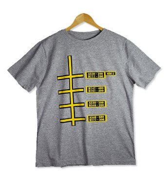 Camiseta Line Position