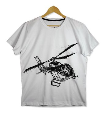 Camiseta Helicóptero