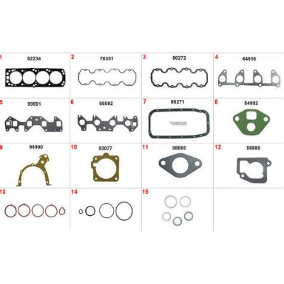 JUNTA MOTOR CORSA 1.6 / 1.8 MERIVA / MONTANA / FIAT 1.8 8V+
