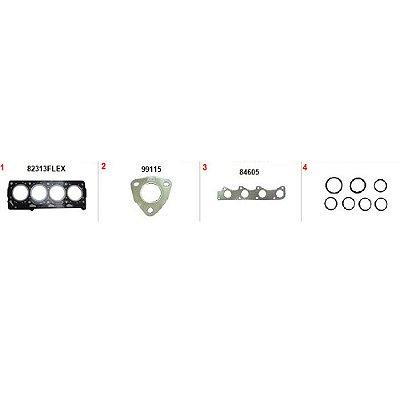 JUNTA MOTOR GOL / VOYAGE / FOX 1.0 8V POWER - SUPERIOR
