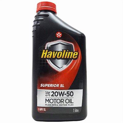 LUBRIFICANTE MINERAL 20W50 SL - HAVOLINE SUPERIOR SL