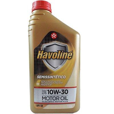LUBRIFICANTE SEMISSINTÉTICO 10W30 SN - HAVOLINE MOTOR OIL