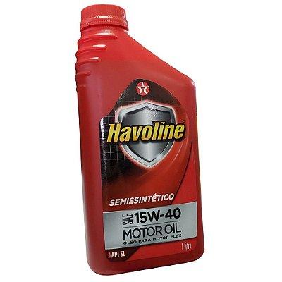 LUBRIFICANTE SEMISSINTÉTICO 15W40 SL - HAVOLINE MOTOR OIL