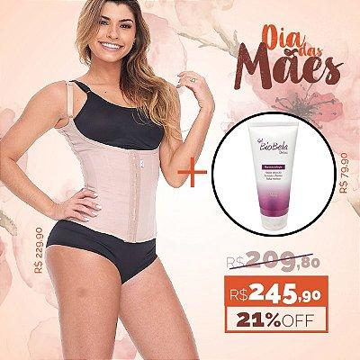 KIT 04 DIA DAS MÂES CORSELET + GEL