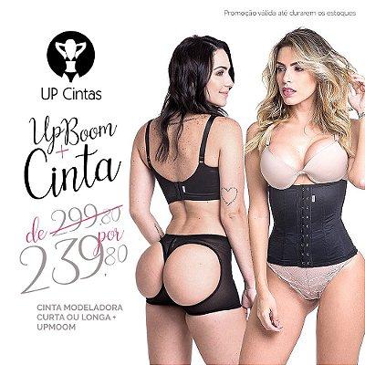 Kit Especial 01 - UPBOOM + Cinta Modeladora Longa ou Curta
