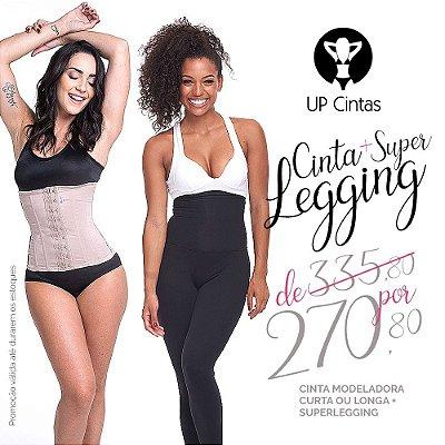 Kit Especial 03 - Cinta Modeladora Curta ou Longa + #SuperLegging