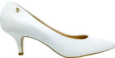 Scarpin Le Bianco Classic Verniz Branco