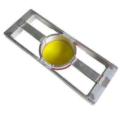 Tela de Alumínio Especial Diâmetro de 11cm e quadro 35x13cm