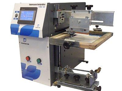 Máquinas Serigráfica Elétrica Ajuste Digital CNC 30 para impressão em Copos Acrilicos, Taças, Canecas, Vidros.
