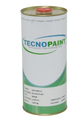 Solvente Tinta Sintética Tecnopaint 900ML - SSXS-0920-Q