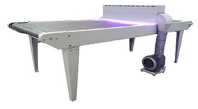 Esteira Curadora UV LED UV Fix 200 - 3 Metros x 80cm de Boca
