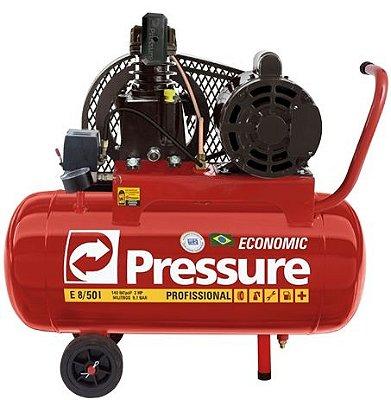 Compressor 6 PÉS 2HP Bivolt 50 litros Pressure
