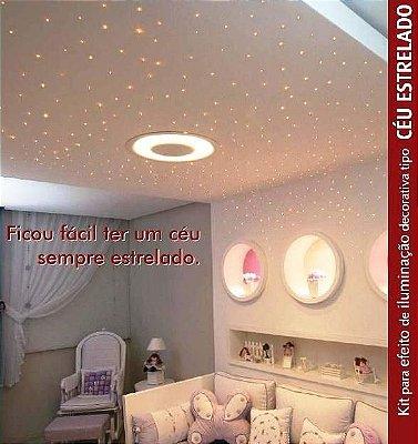 Luminaria Fibra Otica Kits