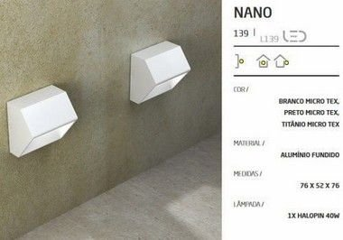 Balizador LED Nano Sobrepor FMT 758