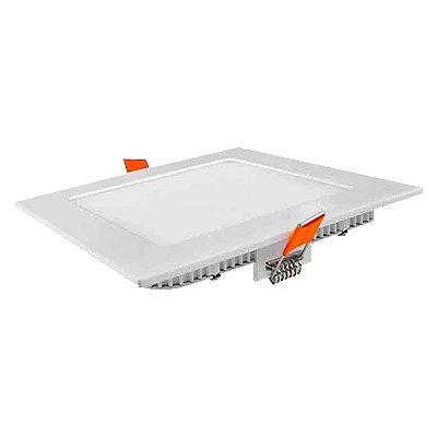 Embutido LED Painel Quadrado 18W 3000k 4000k e 6000k