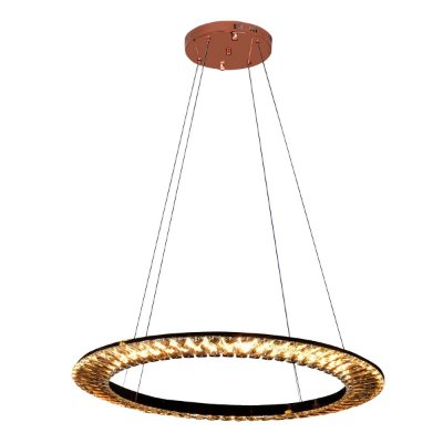 Pendente Led Orbit Rose Gold 62cm ID009E
