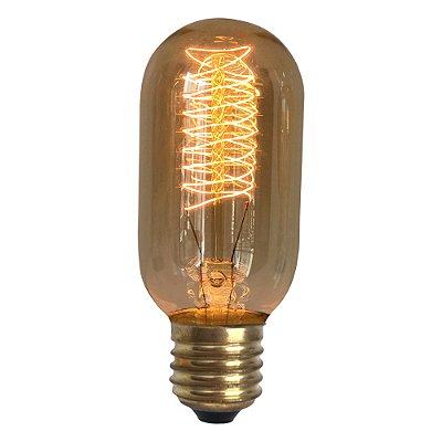 Lâmpada Retrô Filamento Carbono T45 40W