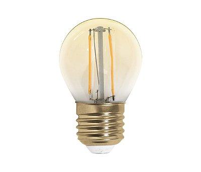 Lâmpada Bolinha Retrô LED G45 2W
