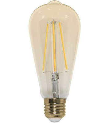 Lâmpada Pera Retrô LED ST64 4W