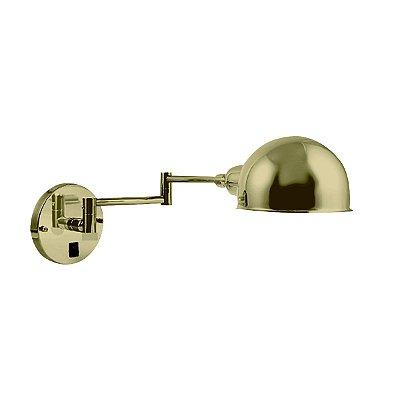 Arandela Latão Juddy Articulada Golden Art P204